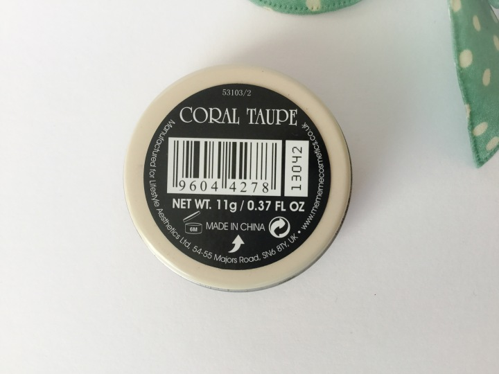 MEMEME Cosmetics Boho Balm